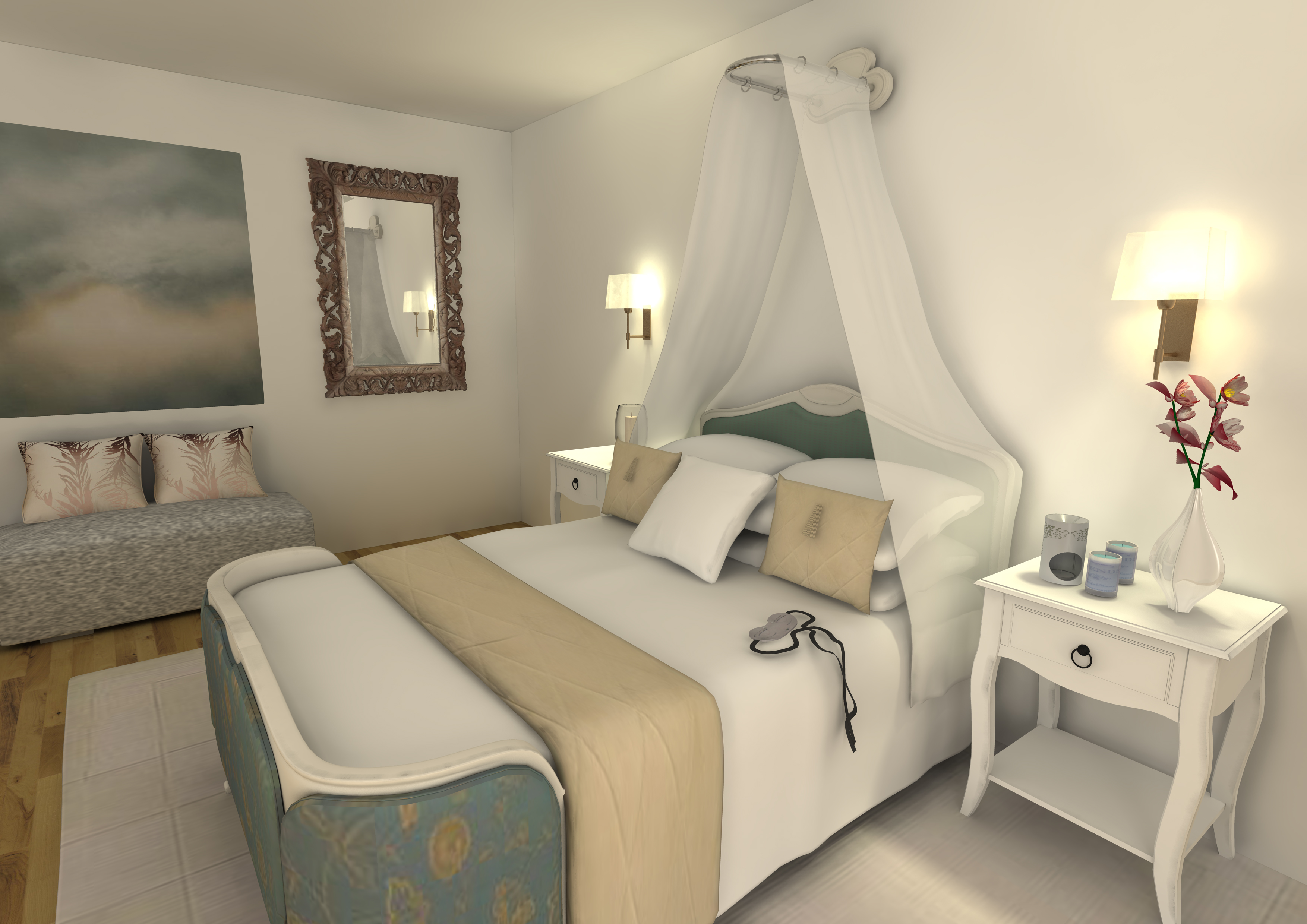 Sleep room florian stephens freelance 3d designer for Sleeping room decoration