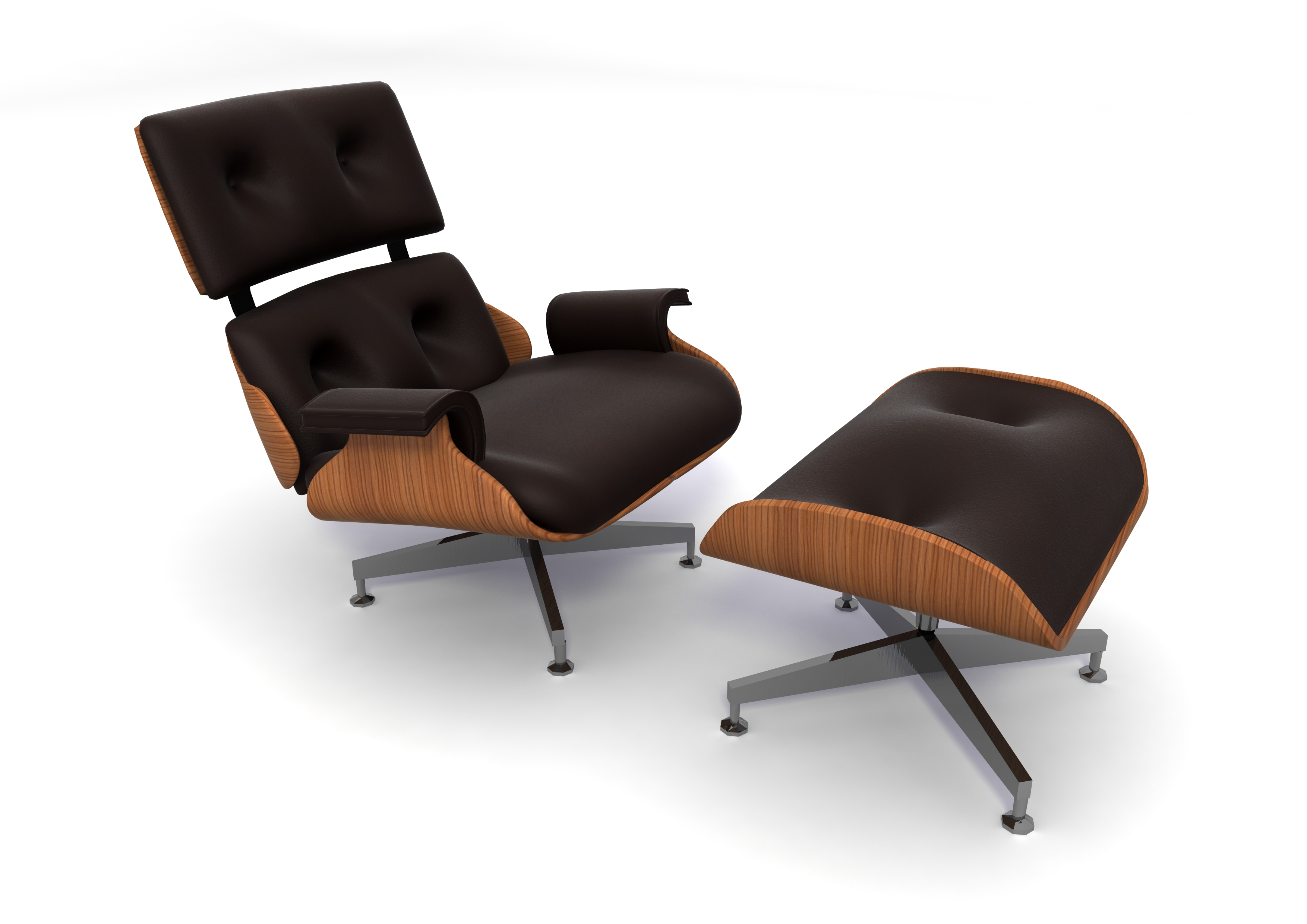 Eames chair florian stephens freelance 3d designer for Design classics furniture reproductions